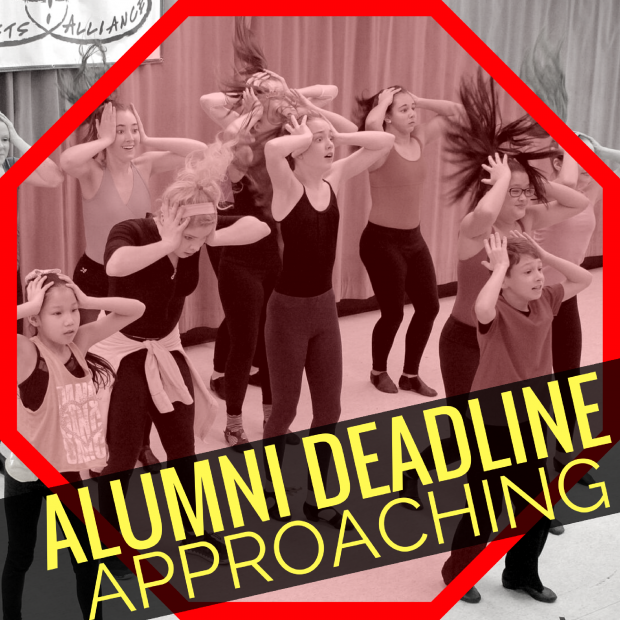 WW Alumni Deadline!