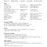Sample Resume #1