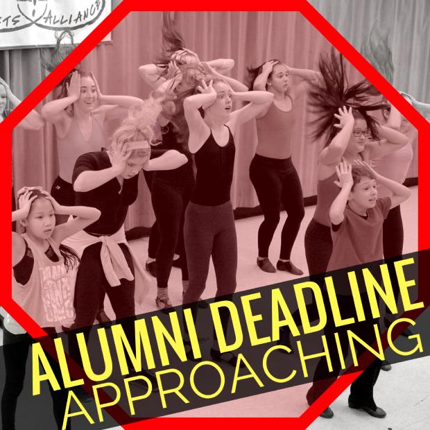 WW Alumni Deadline!